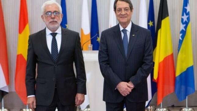 Presentación de Cartas Credenciales en la República de Chipre
