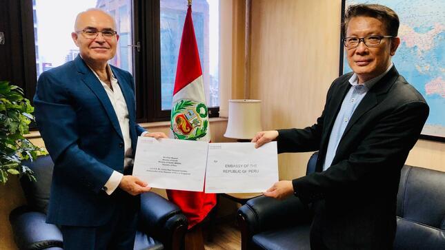 Fundación singapurense realiza donación al gobierno peruano