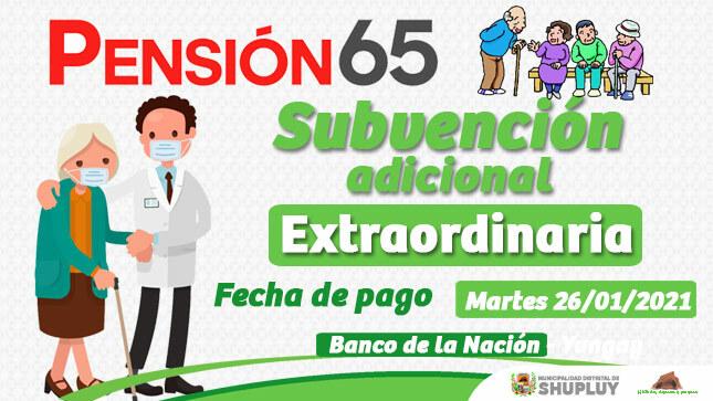 Pago Pensión 65