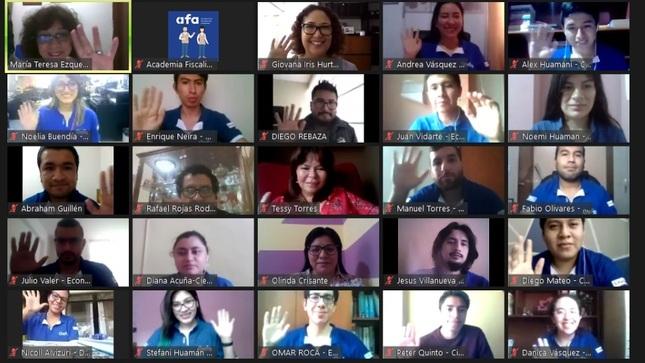 Curso de Extensión Universitaria 2021 del OEFA inicia con 71 estudiantes de 10 regiones del país