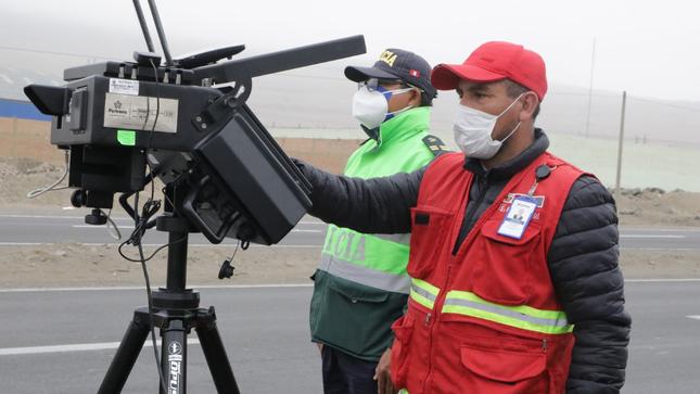 Más de 87 mil infracciones por exceso de velocidad fueron detectadas durante el 2020