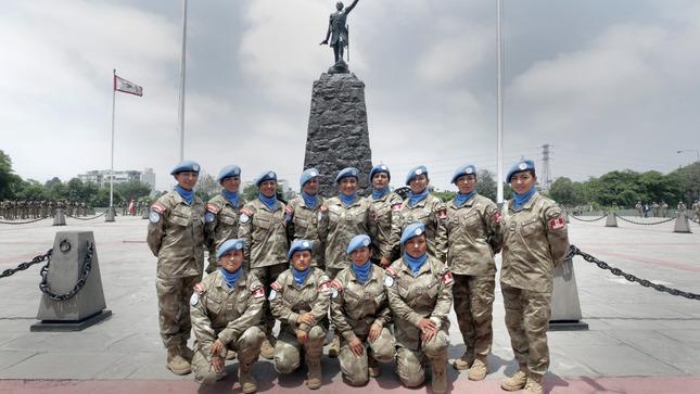Ministra de Defensa resalta la presencia cada vez mayor del personal femenino en misiones de paz de la ONU