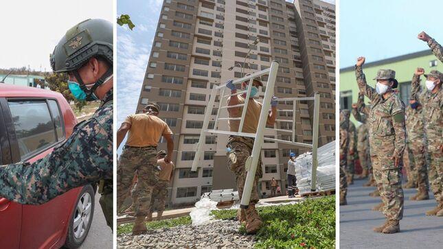 Más de 144 millones de soles invirtió el Mindef para pagar bonificaciones y CTS a personal civil y militar