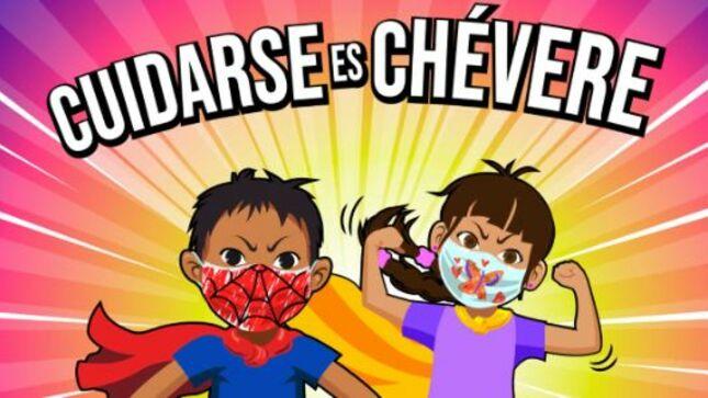 Arequipa: cómic promueve el uso de mascarillas en niños entre 6 y 11 años
