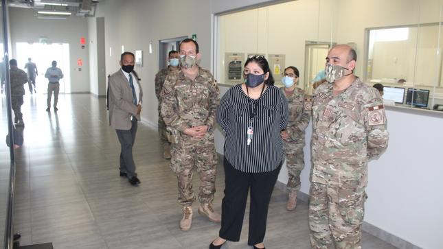 Ministra de Defensa visitó la Agencia Espacial del Perú – CONIDA