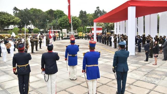 Viceministro de Políticas para la Defensa participó en conmemoración de la Batalla de Miraflores