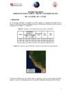 Vista preliminar de documento Informe de sismo en Cañete del 15 de enero de 2021