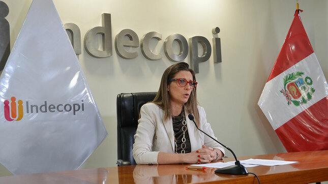 """Presidenta del Indecopi: """"Trabajamos incansablemente  para que la equidad de género esté en todos los ámbitos de nuestras competencias"""""""