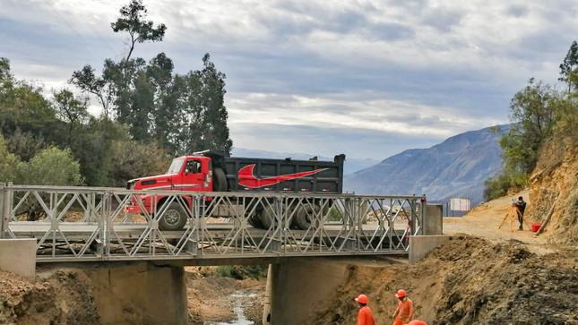 Áncash: MTC instaló 20 puentes modulares en el marco de la Reconstrucción con Cambios