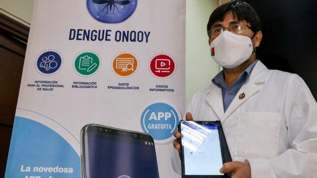 INS presenta aplicativo móvil ¡Dengue Onqoy! para monitoreo y manejo de pacientes con esta enfermedad
