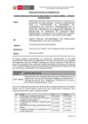 Vista preliminar de documento Reprogramación de la fecha de publicación de la evaluación de las propuestas y adjudicación de la Buena Pro de la empresa privada supervisora para el PROYECTO DEL ESTABLECIMIENTO DE SALUD DE LA PROVINCIA DE CHUMBIVILCAS,.CUSCO