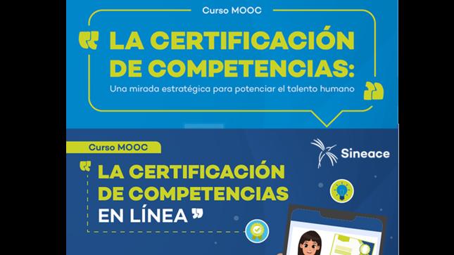 Sineace lanza cursos MOOC sobre certificación de competencias