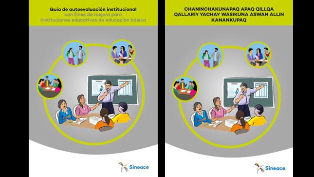 Sineace presenta guía de autoevaluación institucional para colegios en quechua y español