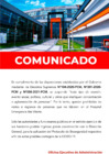 Vista preliminar de documento Comunicado