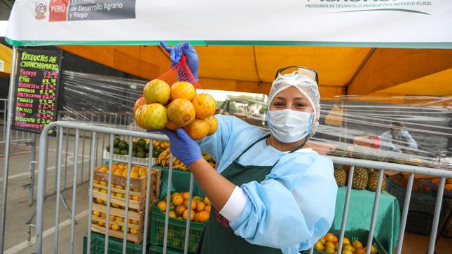 MIDAGRI: Hoy más de 10 mil toneladas de alimentos ingresaron a mercados mayoristas de Lima
