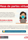 Vista preliminar de documento COMUNICADO - SGDAC - Mesa de Partes Virtual - AURORA