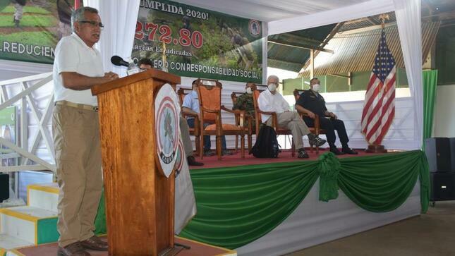 CORAH erradicó más de 6 mil hectáreas de hoja de coca en tres meses