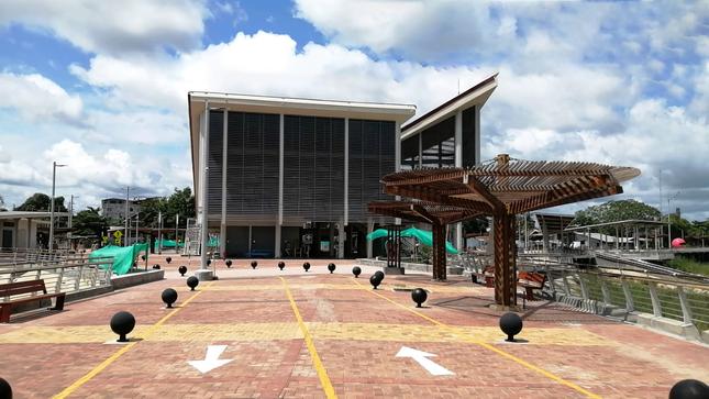 Malecón turístico de Yarinacocha presenta más de 82% de avance acumulado