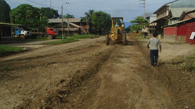 Continuando con el Arreglo de Calles y Jirones del Distrito de Tahuania