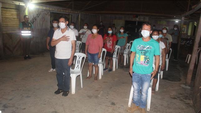 Juramentan Junta Vecinal de Seguridad Ciudadana del Barrio Brasil.