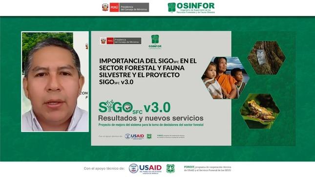 OSINFOR repotencia el Sistema de Información Gerencial - SIGO SFC v3.0