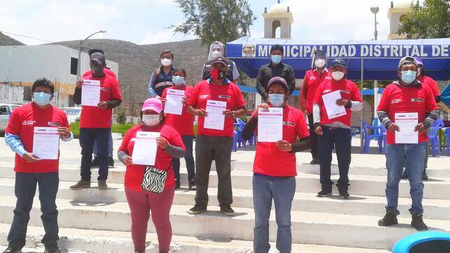 Trabaja Perú y Sencico certificaron competencias laborales de 423 participantes