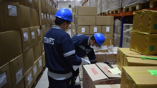 Ministerio de Salud distribuyó más de 323 toneladas de suministros médicos.