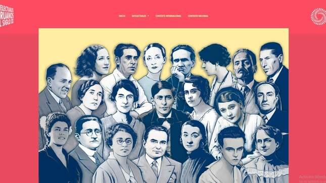 """Bicentenario perú: exposición virtual """"21 intelectuales peruanos del siglo xx"""""""