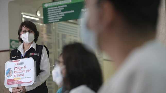 Ministra Mazzetti: inicio de la vacunación es fruto de una labor multisectorial pública y privada
