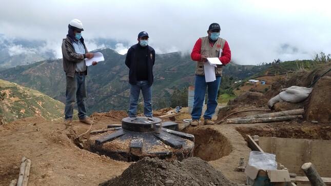 Piura: MVCS ejecuta tres obras de saneamiento rural en Huarmaca con inversión de S/ 7 millones