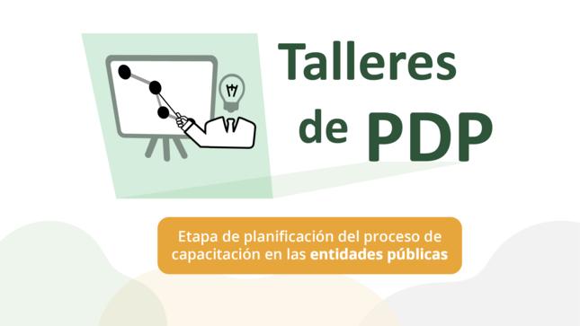 """Comunicado: Lista de participantes para el taller """"Etapa de planificación del proceso de capacitación en entidades públicas"""""""