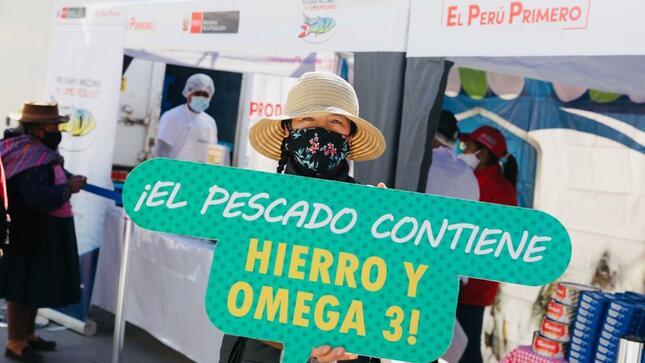 Huancavelica: Produce y la Municipalidad de Acobamba colocan más de 6 toneladas de pescados fresco en zonas rurales