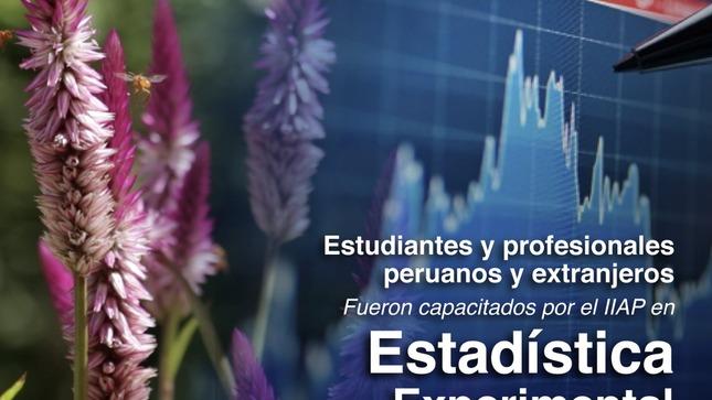 Estudiantes y profesionales peruanos y extranjeros fueron capacitados por el IIAP en estadística experimental