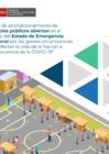 Vista preliminar de documento Guía de acondicionamiento de espacios públicos abiertos en el marco del Estado de Emergencia Nacional
