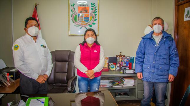 Dirección Regional de Agricultura Áncash y la Municipalidad de Shupluy acuerdan siembra de papa nativa
