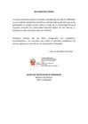 Vista preliminar de documento Declaraciones juradas de los funcionarios del Ministerio de Defensa sobre vacunación contra la Covid-19
