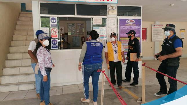 Municipalidad Provincial Encabeza Operativo a Paraderos y Terminales Terrestres en la Ciudad de Juanjuí