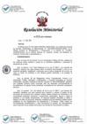 """Vista preliminar de documento Proyecto de Resolución Ministerial que aprueba la """"Directiva General para Normar la Atención de Denuncias en Materia Ambiental a cargo del Ministerio de Vivienda, Construcción y Saneamiento"""""""