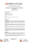 Vista preliminar de documento Informe Técnico Previo de Evaluación de Software N° 001-2021