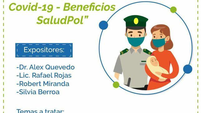 SaludPol brinda charlas informativas contra el Covid-19 a efectivos policiales