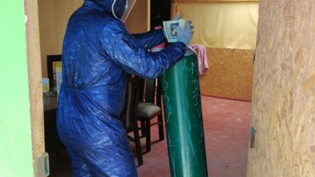Apoyo con Oxigeno Medicinal a pobladores que lo necesitan