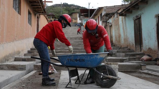 Trabaja Perú generará más de 35 mil empleos temporales a través de la realización de más de 600 actividades de intervención inmediata