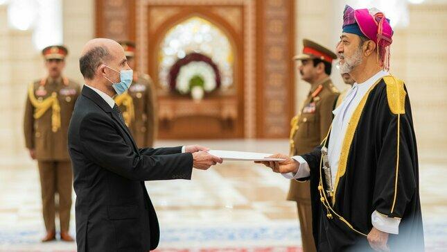 Embajador Salinas presentó Cartas Credenciales en la Sultanía de Omán