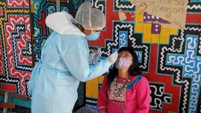 Minsa realiza evaluación médica y descarte de COVID-19 con pruebas de antígeno en Comunidad Shipibo-Conibo