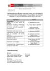 Vista preliminar de documento Comité Electoral SUB-CAFAE PNCVFS - Cronograma del Proceso Electoral