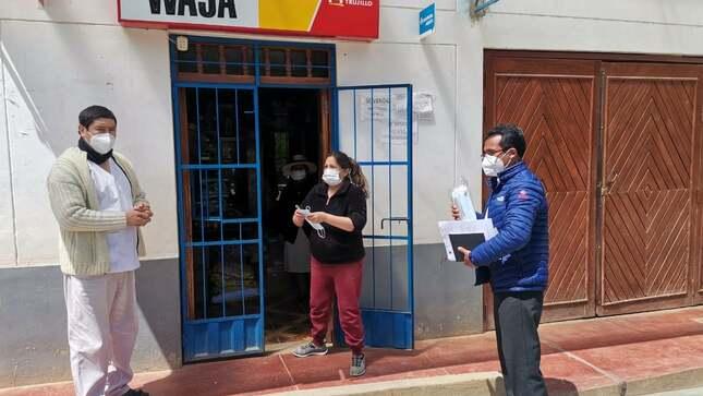 Autoridades de Cochán notifican a tiendas y restaurantes para que cumplan con las normas de salud pública