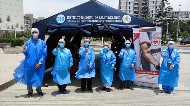 Banco de Sangre del Hospital Loayza realizó primera Campaña de Donación Voluntaria de Sangre