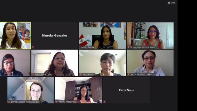Cuna Más y COPERA Infancia desarrollan conversatorio sobre los servicios de atención para la primera infancia en contexto de pandemia