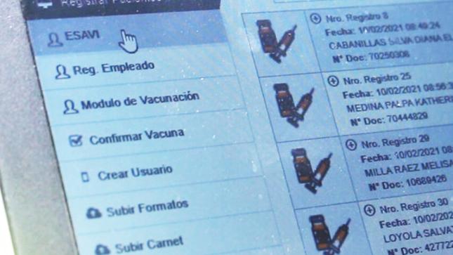 Hospital Emergencia Ate Vitarte implementa herramienta tecnológica para vacunación contra la Covid-19