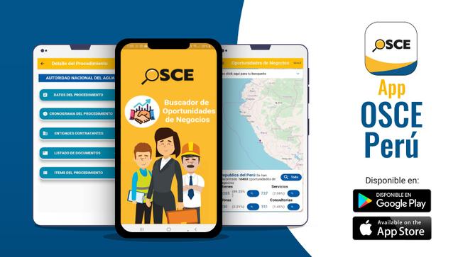 App Oportunidades de Negocio del OSCE supera las 58,000 descargas